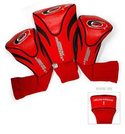 Carolina Hurricanes 3 Pack Contour Sock Headcovers