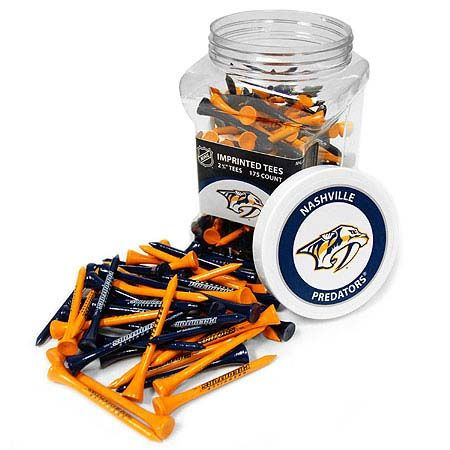 Nashville Predators Imprinted Tee Jar 175 Count