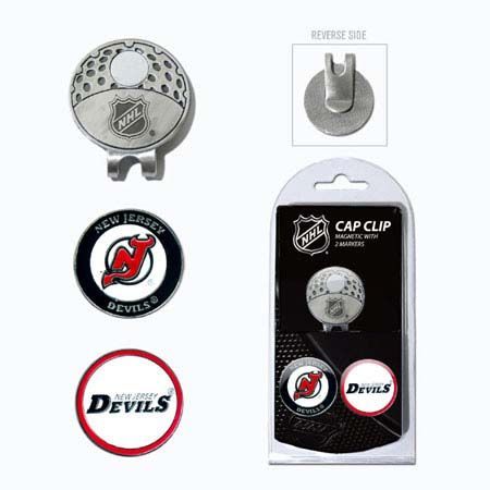 New Jersey Devils Marker Cap Clip 2 Pack