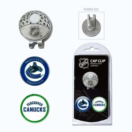Vancouver Canucks Marker Cap Clip 2 Pack