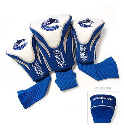 Vancouver Canucks 3 Pack Contour Sock Headcovers