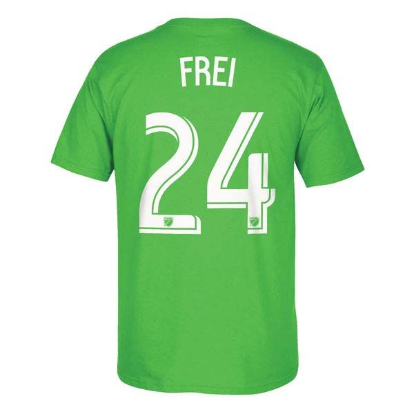 Seattle Sounders MLS Stefan Frei Go To Player Name And Number Tee (Green)