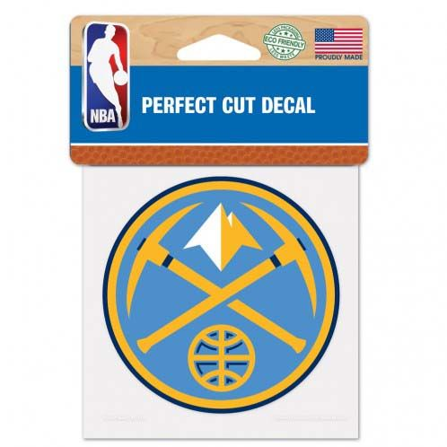 Denver Nuggets 4X4 Color Die Cut Decal