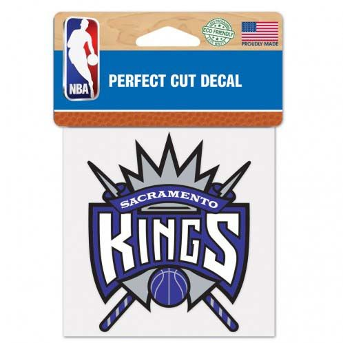 Sacramento Kings 4X4 Color Die Cut Decal