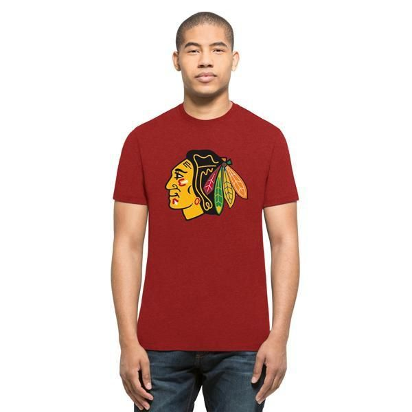 Chicago Blackhawks NHL Primary Logo Club Tee (Red)