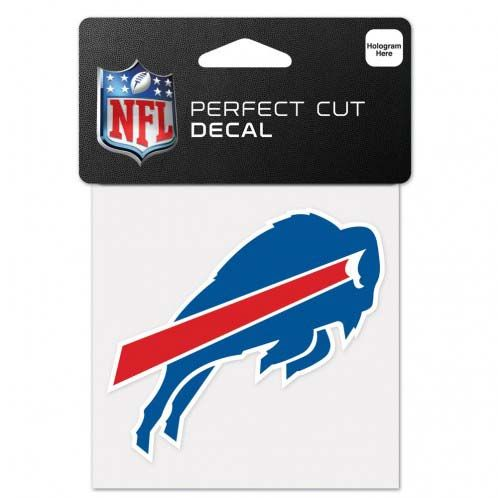 Buffalo Bills 4 X 4 Color Die Cut Decal
