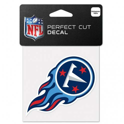 Tennessee Titans 4 X 4 Color Die Cut Decal