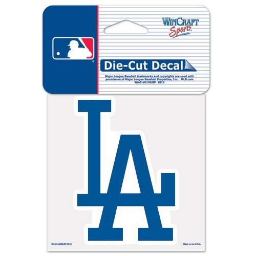Los Angeles Dodgers MLB Die Cut Decal