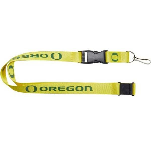 Oregon Ducks Logo Lanyard (Yellow)