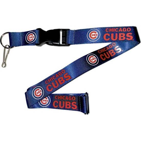 Chicago Cubs Team Logo Lanyard (Royal)
