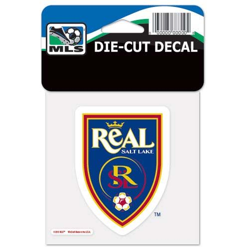 Real Salt Lake MLS Die Cut Decal
