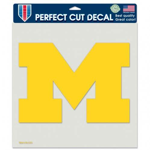 Michigan Wolverines 8 In. Die Cut Decal