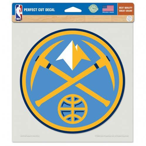 Denver Nuggets 8In Cut Die Cut Decal