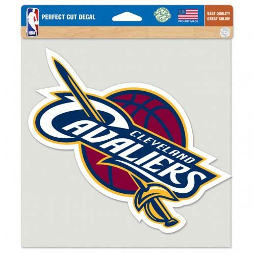 Cleveland Cavaliers 8In Color Die Cut Decal