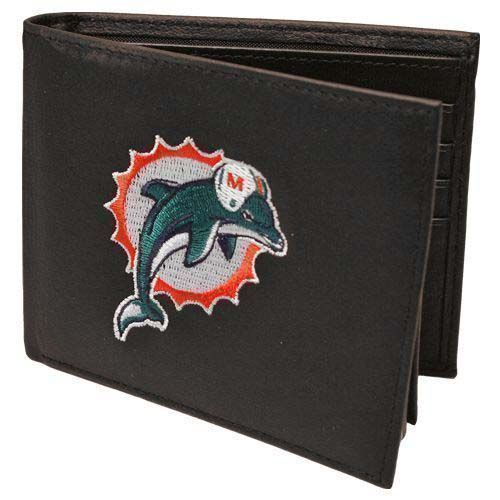 Miami Dolphins NFL Leather Wallet