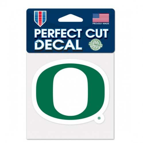 Oregon Ducks 4X4 Color Die Cut Decal