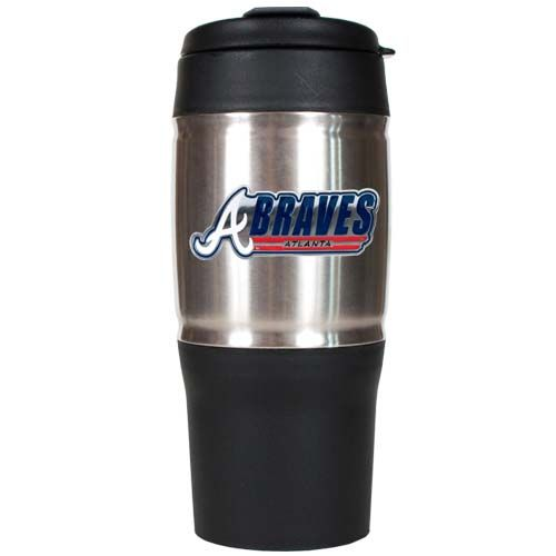 Atlanta Braves 18 oz Heavy Duty Travel Tumbler
