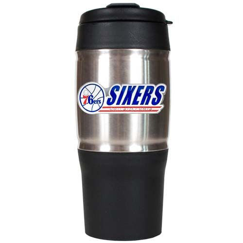 Philadelphia 76Ers 18 oz Heavy Duty Travel Tumbler