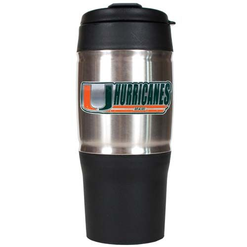 Miami Hurricanes 18 oz Heavy Duty Travel Tumbler