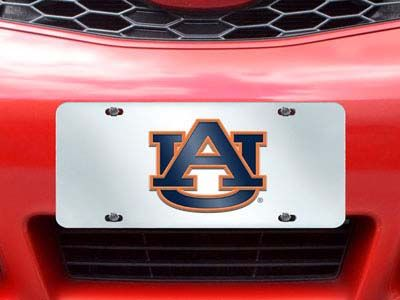 Auburn Tigers License Plate Inlaid