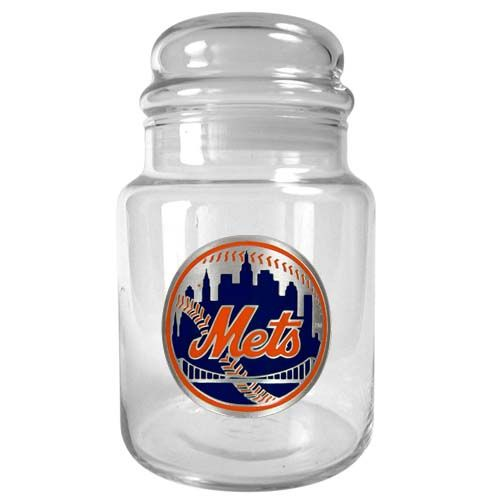 New York Mets MLB Candy Jar (Clear)
