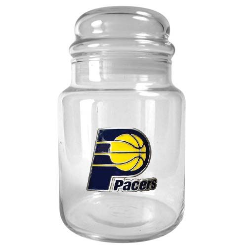 Indiana Pacers NBA Candy Jar (Clear)