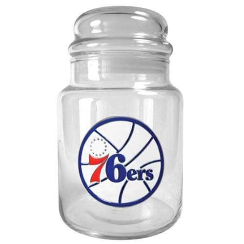 Philadelphia 76ers NBA Candy Jar (Clear)