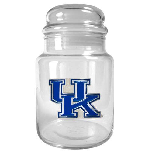 Kentucky Wildcats NCAA Candy Jar (Clear)