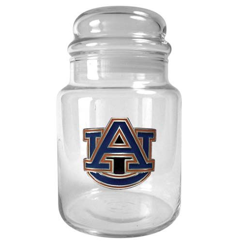 Auburn Tigers NCAA Candy Jar (Clear)