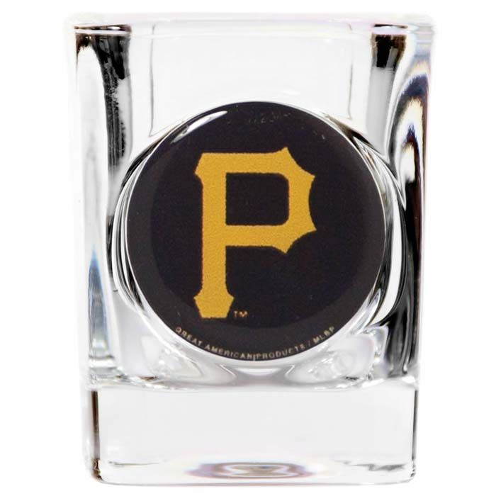 Pittsburgh Pirates Square Shot Glass