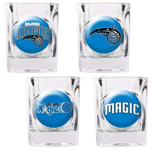 Orlando Magic Orlando Magic 4 Piece Collector's Shot Glass Set