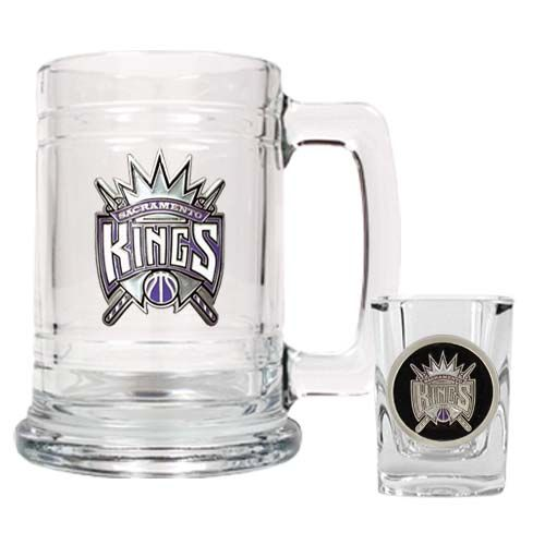 Sacramento Kings NBA Boilermaker Set (Clear)