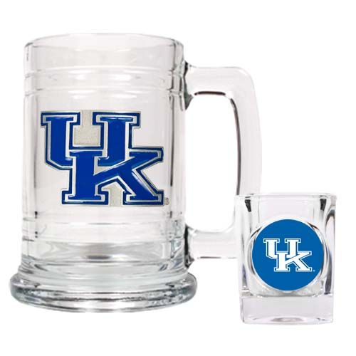 Kentucky Wildcats NCAA Boilermaker Set (Clear)