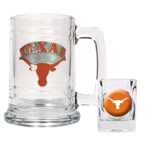 Texas Longhorns NCAA Boilermaker Set (Clear)