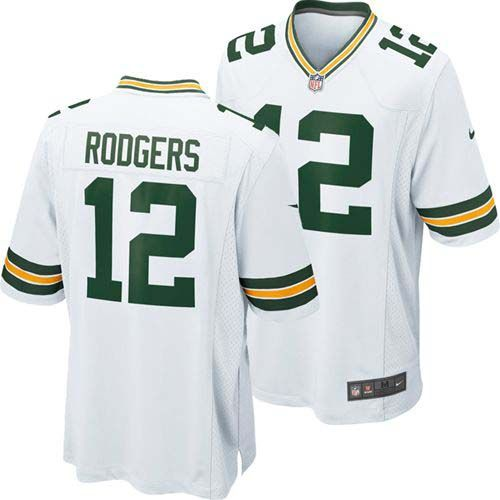 Aaron Rodgers Green Bay Packers Nike Youth Game Jersey (White)