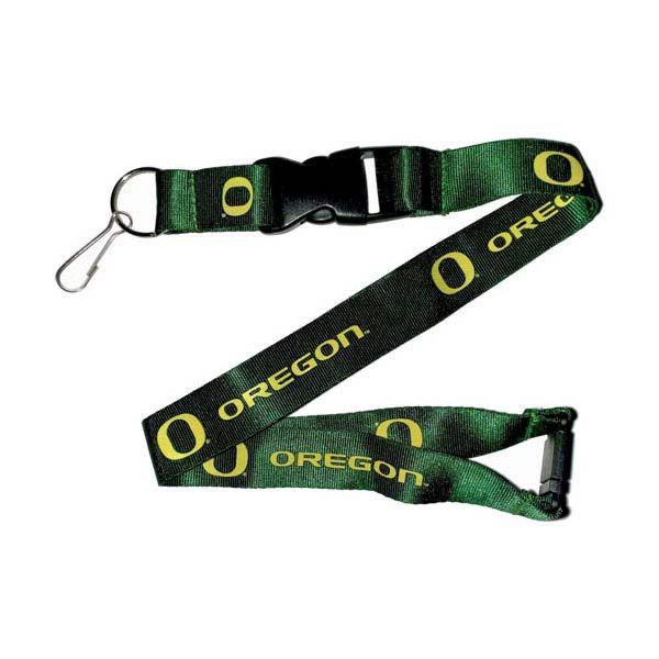 Oregon Ducks NCAA Team Logo Lanyard (Green)