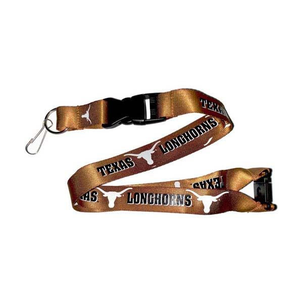 Texas Longhorns NCAA Team Logo Lanyard (Orange)