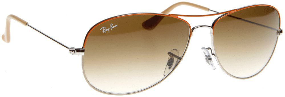Ray Ban Men's Sunglasses RB3362 Cockpit - 071/51: Gunmetal / Red - 59mm