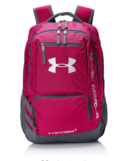 Under Armour Storm Hustle II Backpack, Tropic Pink (654)/White, One Size