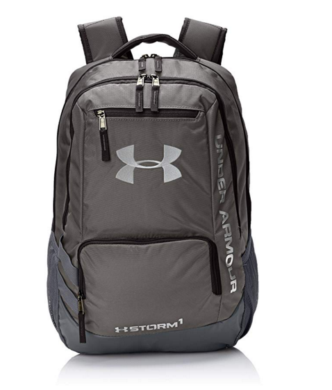 Under Armour Storm Hustle II Backpack, Graphite (040)/Silver, One Size